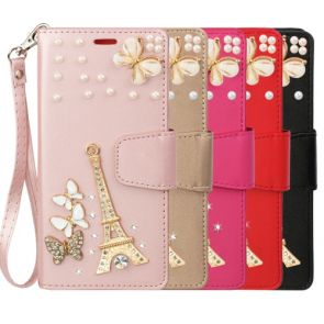 LG Aristo 5/K31-Treasure Wallet Eiffel
