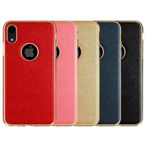 IPhone X-Lumi Leather Metal