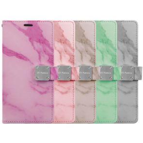 LG Stylo 5-Marble Wallet