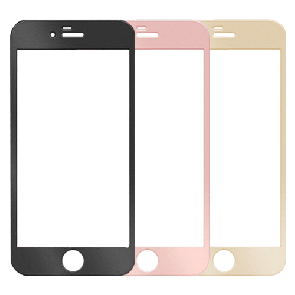 IPhone 7Plus/8Plus-Full Cover Color Temper Glass 10 Pack