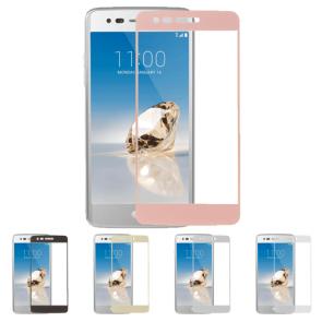 LG Stylo3-Full Cover Color Temper Glass 10 Pack