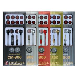 Wired Earphone w/mic, eratoss_CM800