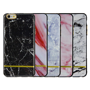IPhone 6 Plus-Chrome Marble