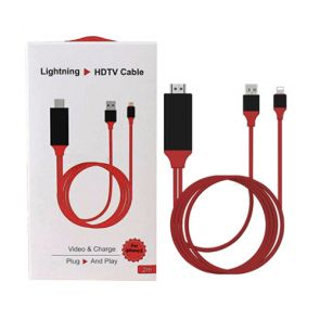 Lightning to HDMI, iPhone HDTV Cable, 2M