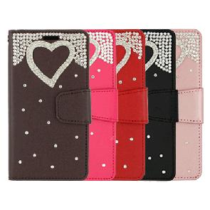 LG Aristo 3+/3/2-Treasure Wallet Heart