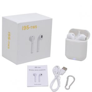 Bluetooth i9S-TWS, iOS & Androids-White