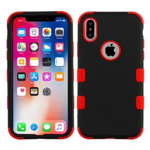 IPhone X-Mybat Rubberized Solid Tuff