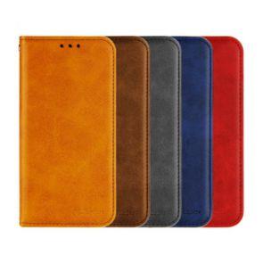 LG Q7 Plus-Leather Flip