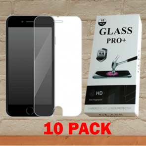 Moto G6 Play-Temper Glass 10 Pack